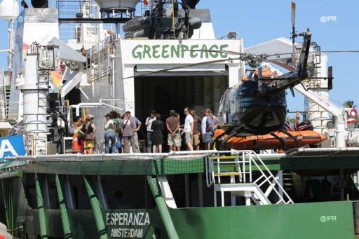 journée de solidarité organisée par Greenpeace