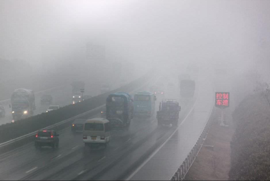 Le smog ravage la chine