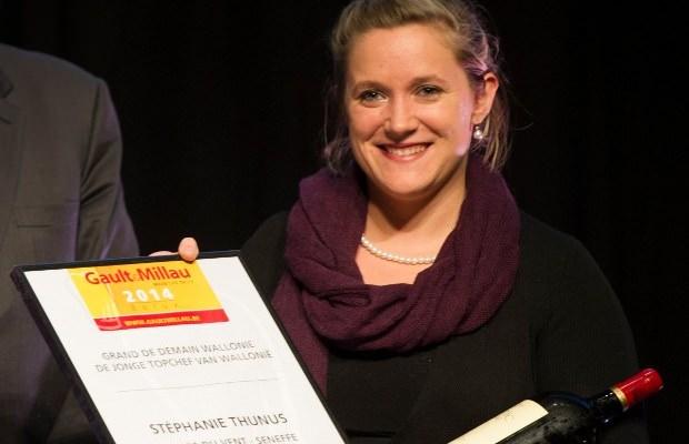 Stéphanie Thunus « Lady chef of the year » 2014