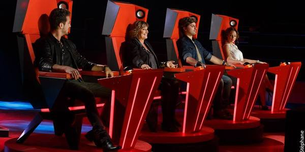 The Voice Belgique : Natacha St-Pier fond en larmes après la prestation de la jeune Laura