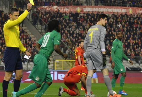 """Football Belgique - match """"Diables-rouges - côte d'Ivoire"""