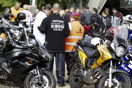 La Fédération belge des Motards montre sa colère au ministre Paul Furlan