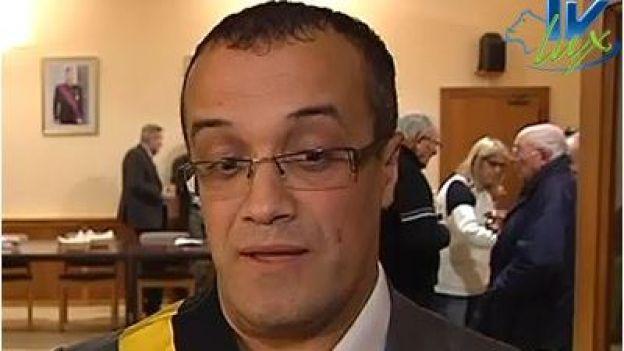 Mohamed Boumkassar propulsé au poste de 1er communal de Musson. Michel Yans, le bourgmestre, surpris mais confiant. échevin sur décision du conseil