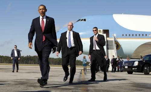 Niveau d'alerte sécurité maximal avec la venue du Président Américain