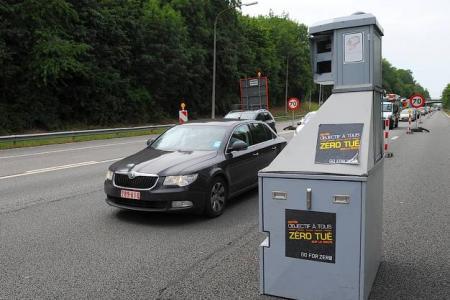"""Radar """"Lidar"""" le champion des flashs, en six mois à Bruxelles 27000 PV"""
