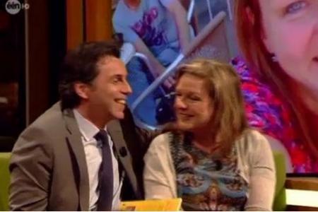 Une demande en mariage à la TV Flamande, celle de Christophe Deborsu à Annick De Wit