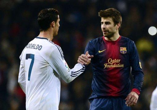 Cristiano Ronaldo et Gérard Piqué seront absents lors du Match pour la coupe du roi : Réal - Barça