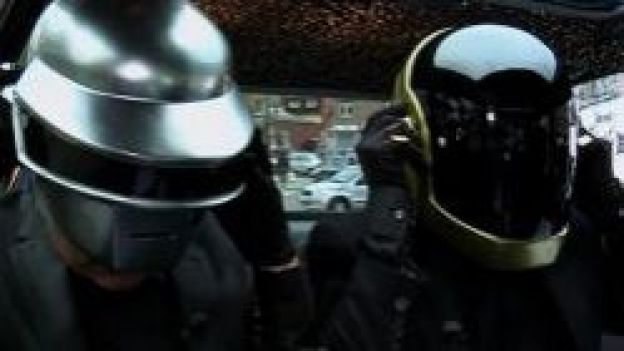 """Les Daft Punk étaient invités dans l'émission """"Hep Taxi"""