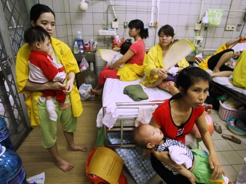 Rougeole meurtrière au Vietnam : 112 morts depuis janvier