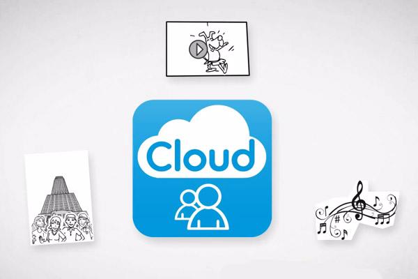 """Sauvegarde en ligne de vos fichiers, par """"Belgacom Cloud"""""""