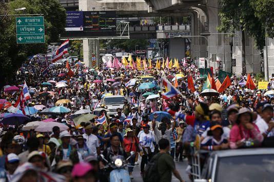 « bataille finale » en Thaïlande pour les manifestants