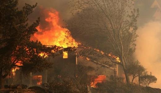 2014, premier gros incendie de Californie