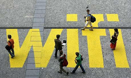 """Liège et son réseau Wi-Fi urbain """"Liege Digital City"""""""