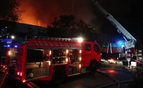 NMC un incendie cause des dégâts importants