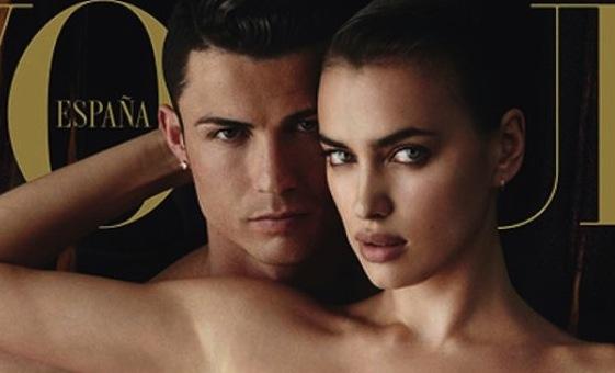 Vogue Espagne : le couple glamour Cristiano Ronaldo et Irina Shayk