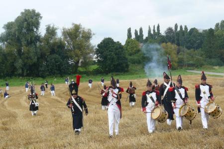 La scénographie du Mémorial de Waterloo
