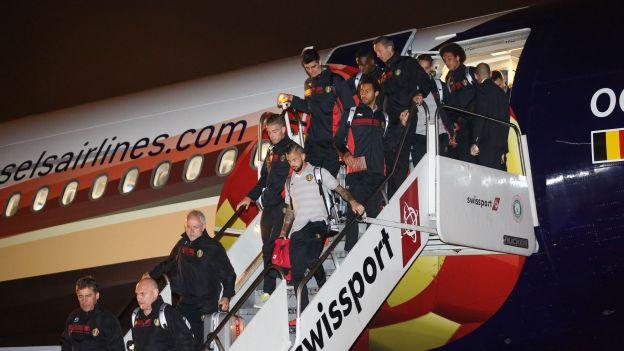 Les Diables rouges sont au Brésil !