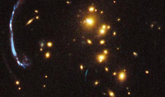 Télescope Hubble : un petit coin de ciel