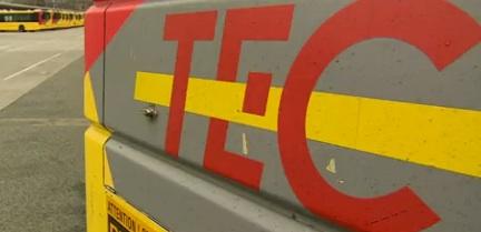 Des caméras de surveillance installées sur tous les Bus du TEC d'ici 2017