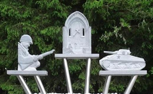 Bastogne : Le monument du Bois Jacques dédié aux vétérans américains a été encore une fois endommagé