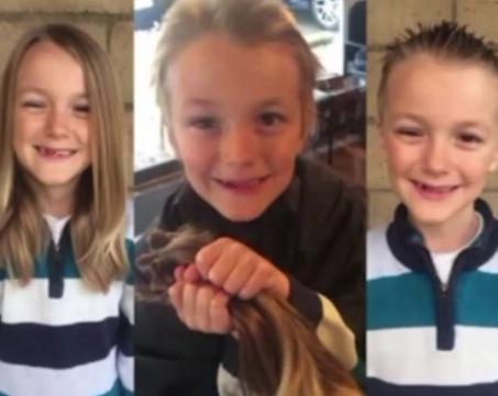 Californie : Un garçon de 7 ans atteint d'une forme de cancer très agressif provoque l'émoi de la population