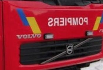 Un camion en feu sur l'autoroute E25 à hauteur de Tilff