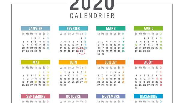 Année Bissextile: L'année 2020 va durer plus longtemps que l'année 2019